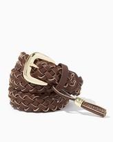 Charming charlie Woven Tassel Belt