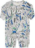 Bonnie Baby Wilderness-Print Cotton-Blend Convertible Gown