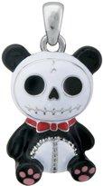 Summit Furry Bones Skull Black Panda Bear Pandie Pendant Jewelry Accessory