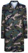 Valentino Longline Army Coat