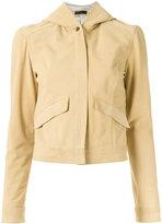 Talie Nk - leather jacket - women - Leather - 36