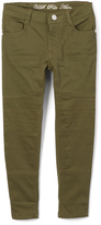 U.S. Polo Assn. Olive Green Denim Pants - Girls