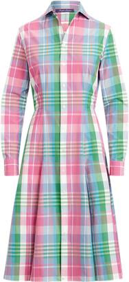 Ralph Lauren Aldene Madras Shirtdress