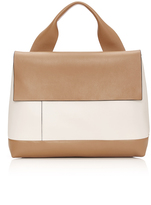 Marni Calf Leather Bag with Top Handle
