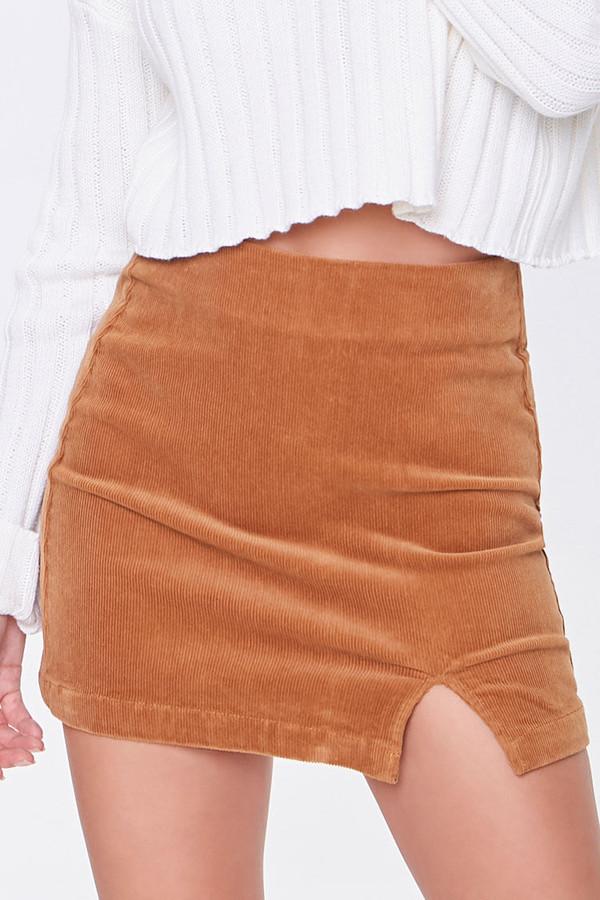 Thumbnail for your product : Forever 21 Corduroy Mini Skirt