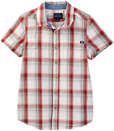 Lucky Brand Overflow Woven Check Shirt (Big Boys)