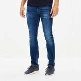 Celio Afowarble Powerflex Stretch Denim Slim-Fit Jeans in Stonewash, Length 34