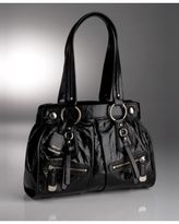 Soft Patent Leather Shopper
