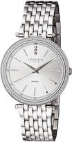 Johan Eric Fredericia Quartz Diamond Silver Stainless Steel Bracelet Watch