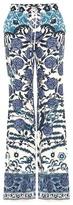 Roberto Cavalli Printed flared jeans