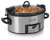 Crock Pot Cook & Carry Countdown 6-Quart Slow Cooker