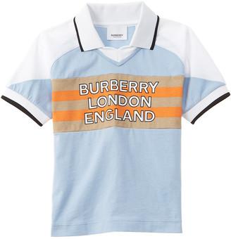 Burberry Logo Polo