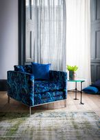 Matthew Williamson Electric Blue Marble Butterfly Minnelli Chair