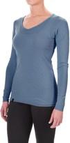 Ibex Woolies 1 Lightweight Base Layer Top - Merino Wool, V-Neck, Long Sleeve (For Women)