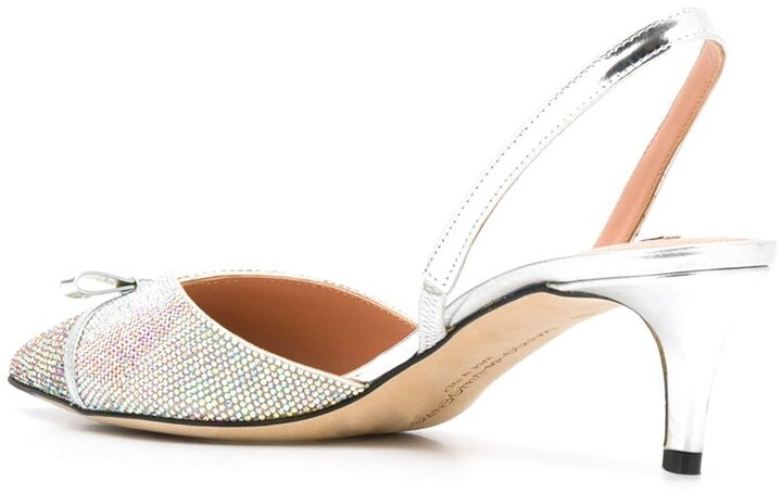 Thumbnail for your product : Marco De Vincenzo Bow Sling-Back Pumps