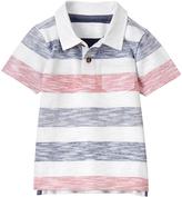 Gymboree Gym Navy & White Micro Stripe Polo - Infant Toddler & Boys