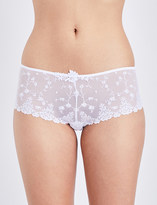 Passionata White nights mesh and lace shorty briefs