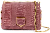 Jimmy Choo Pink Snake petite Lockett shoulder bag - women - Leather/metal - One Size