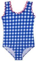 Hula Star Girls' Gingham Swimsuit - Little Kid