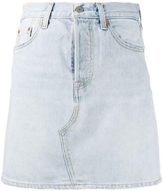 Levi's Straight Denim Skirt