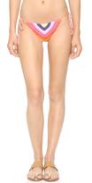 Mara Hoffman Prismatic Crochet Tie Bikini Bottoms