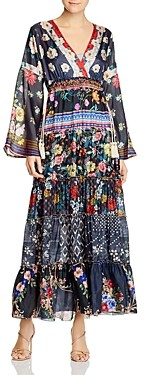 Johnny Was Dunas Silk Printed Dress