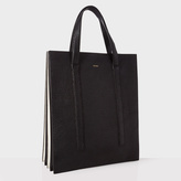 Paul Smith Black and White 'Concertina' Tote Bag