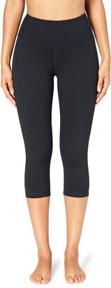 Core Products Amazon Brand - Core 10 Womens Build Your Own Yoga Pant - High Waist Capri Legging S