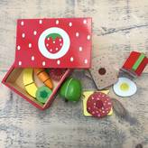 Little Ella James Wooden Strawberry Sandwich Set