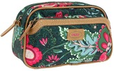 Oilily Paisley Flower Small Pouch (Green) - Bags and Luggage