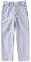 Class Club Big Boys 8-20 Chambray Flat Front Pants