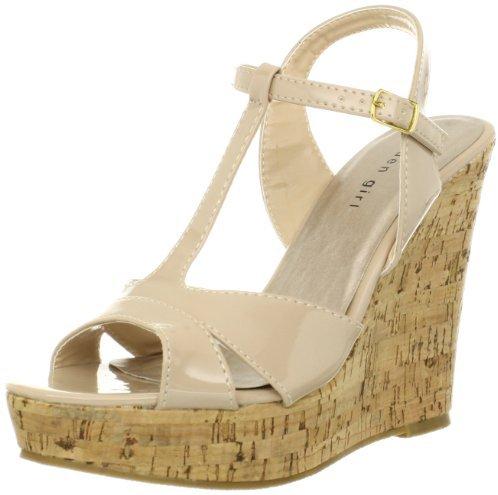 Madden-Girl Women's Whammy Wedge Sandal