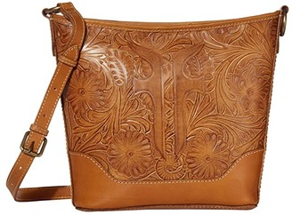 Frye Melissa Artisan Small Hobo Crossbody (Sunflower) Handbags