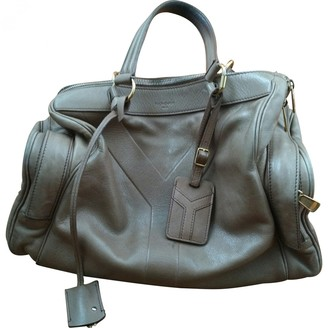 Saint Laurent Easy Beige Leather Handbags