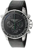 Raymond Weil Men's 'Nabucco' Swiss Automatic Titanium and Rubber Casual Watch, Color:Black (Model: 7850-TIR-05217)