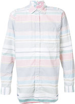 Engineered Garments striped shirt - men - Cotton - S