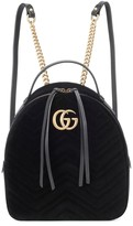 Gucci GG Marmont velvet backpack