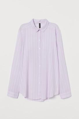 H&M Cotton Poplin Shirt