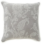 Southern Living Waterbury Floral Jacquard & Percale Square Pillow