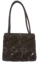 Judith Leiber Sequin-Embellished Satin Evening Bag