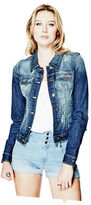 G by Guess GByGUESS Women's Alicia Basic Denim Jacket