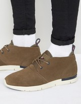Tommy Hilfiger Tobias Mid Suede Trainers