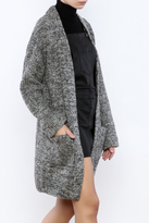 Lush Slate Long Sweater