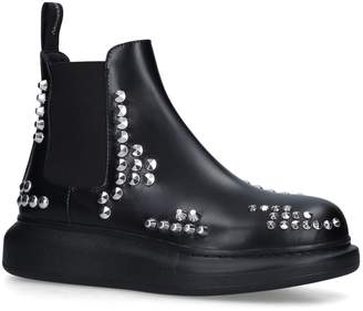 Alexander McQueen Rockstud Hybrid Chelsea Boots
