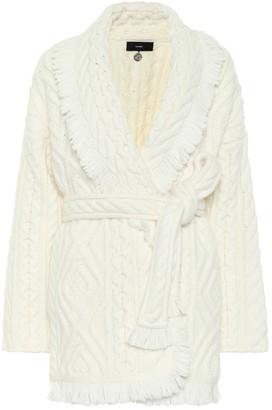 Alanui Fisherman Icon wool and cashmere cardigan