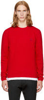 Versace Red Small Medusa Sweater