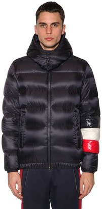 Moncler Willm Down Jacket W/ Striped Detail