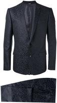 Dolce & Gabbana Jacquard Martini suit - men - Silk/Acetate/Cupro/Virgin Wool - 48