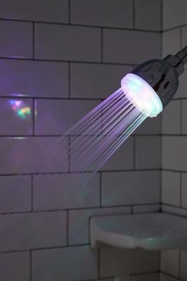 Urban Outfitters Brilliant Ideas LED Showerhead - Assorted ALL at