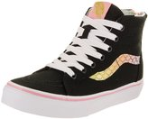 Vans Kids Sk8-Hi Zip (Mermaid) Skate Shoe 2 Kids US